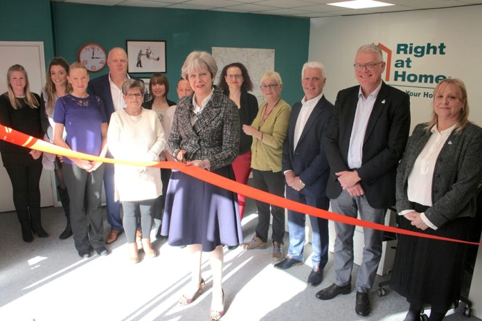 PM opens Right at Home Reading and Wokingham