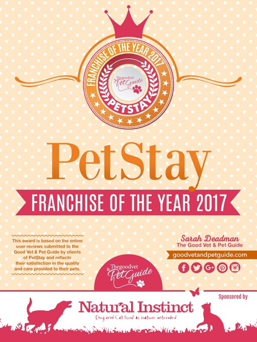 pet stay award