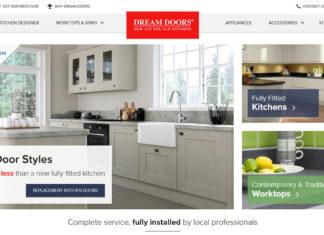 Dream doors website