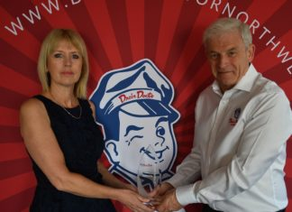 Kevin and Dawn Preston celebrate their 25 year Drain Doctor North West anniversary