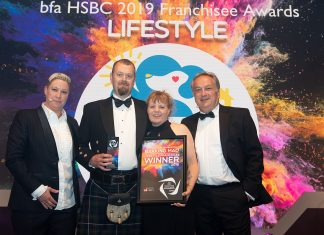 Elaine and John Warburton Barking Mad bfa Award winners