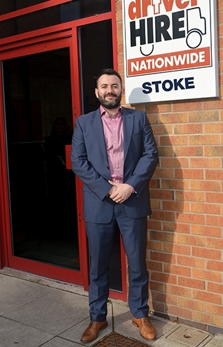 Paul Crossley Driver Hire Stoke