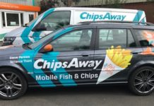 chips away just giving