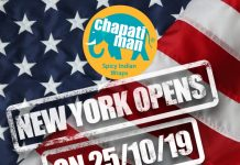 Chapati Man franchise NEW YORK OPENS