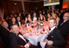 Gary with his son Steve and some of their clients at the Business Excellence Awards