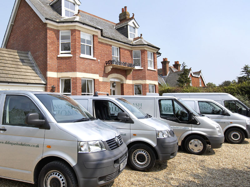 Sliding Sash Solutions Vans