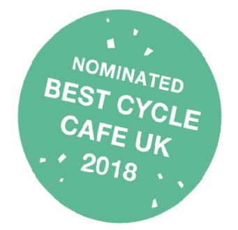 The Commute nominated Best Cycle Cafe UK 2018